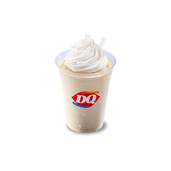 DQ Caramel soft serve ice cream shake