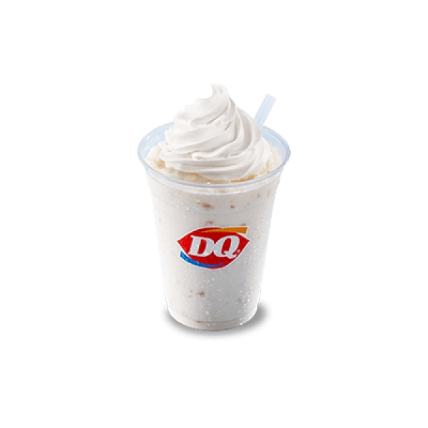 DQ Banana soft serve ice cream shake