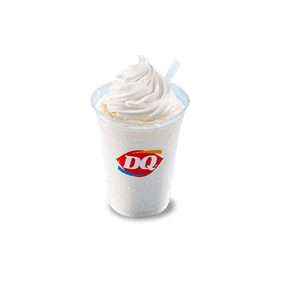 DQ vanilla soft serve ice cream shake