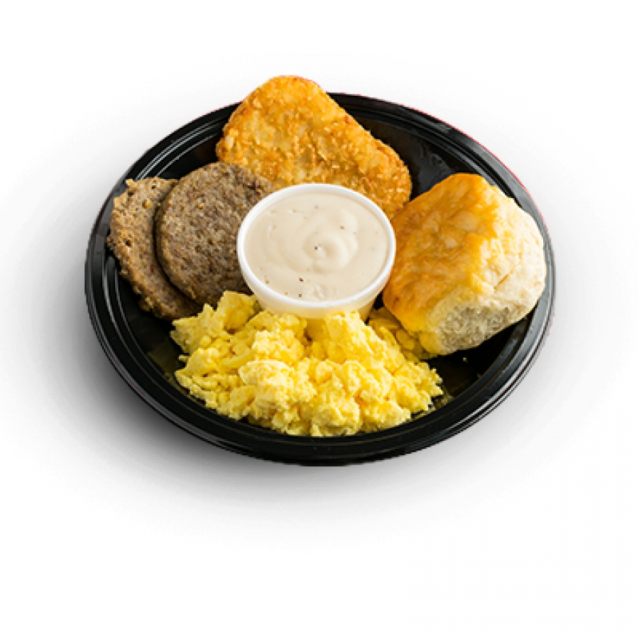 country breakfast plate | dairy queen east texas